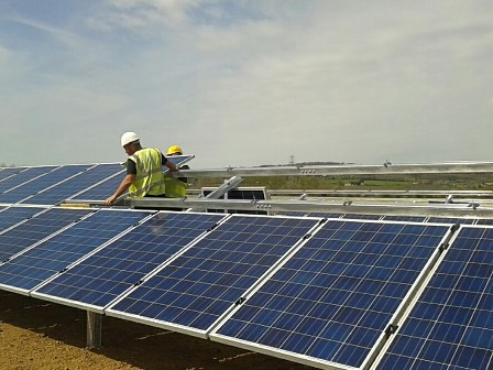 Our 300kW of panels generate